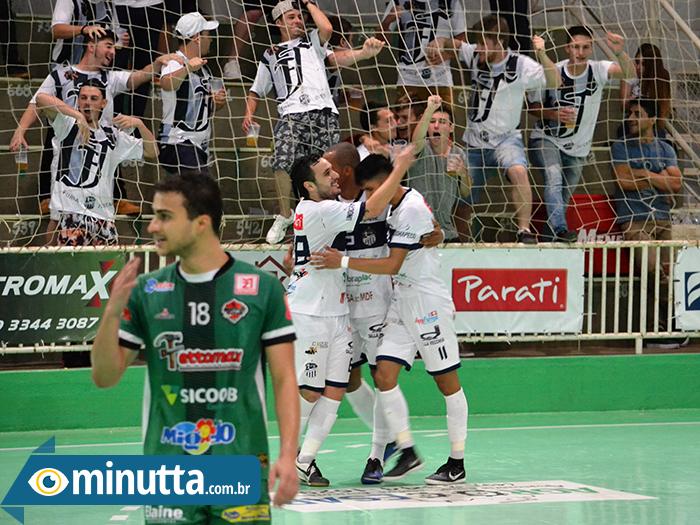 c4ba9bd0bb Futsal São Lourenço vence e tem vantagem para próximo jogo
